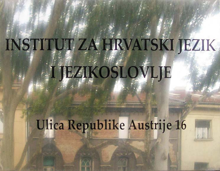 Institut jezik