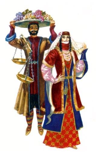 Armenska narodna nošnja