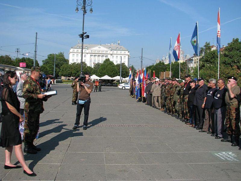 Dan pobjede u Zagrebu 2012. - branitelji