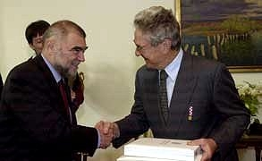 Stjepan Mesić i George Soros