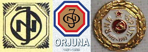 Orjuna - Split - simboli
