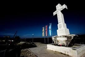 Križ na ušću Vuke