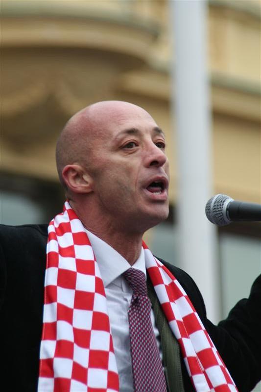 Braniteljski prosvjed u Zagrebu 26. veljače 2011.