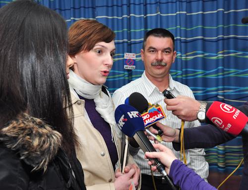 Konferencija za tisak povodom splitskog mimohoda za hrvatske branitelje