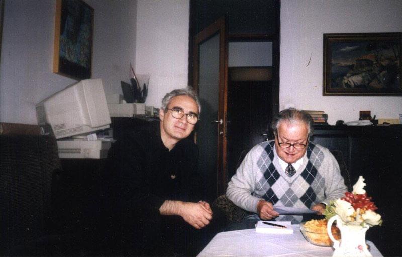 Artur Bagdasarov i akademik Brozović