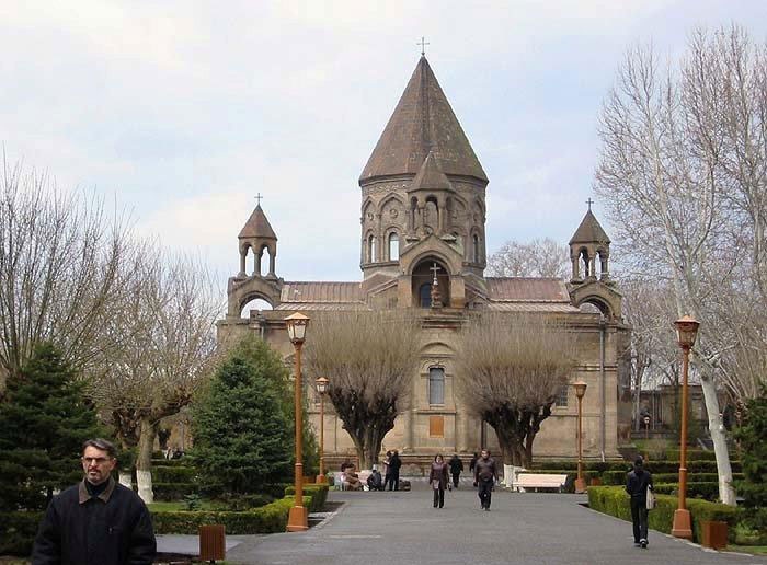 Ečmiadzin, sjedište katolikosa svih Armenaca Karekina II.