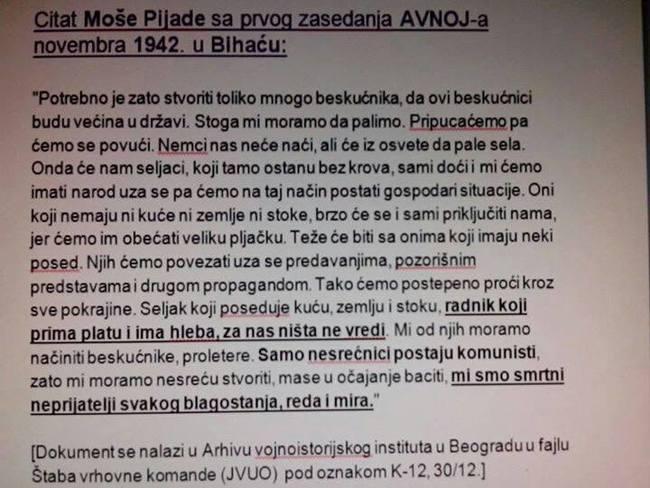 Moša Pijade - AVNOJ