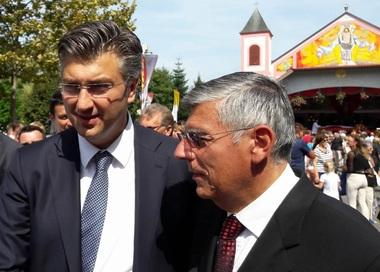 Željko Reiner i Andrej Plenković