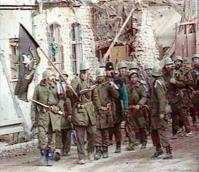 Vukovar studeni 1991. ulazak četnika u grad