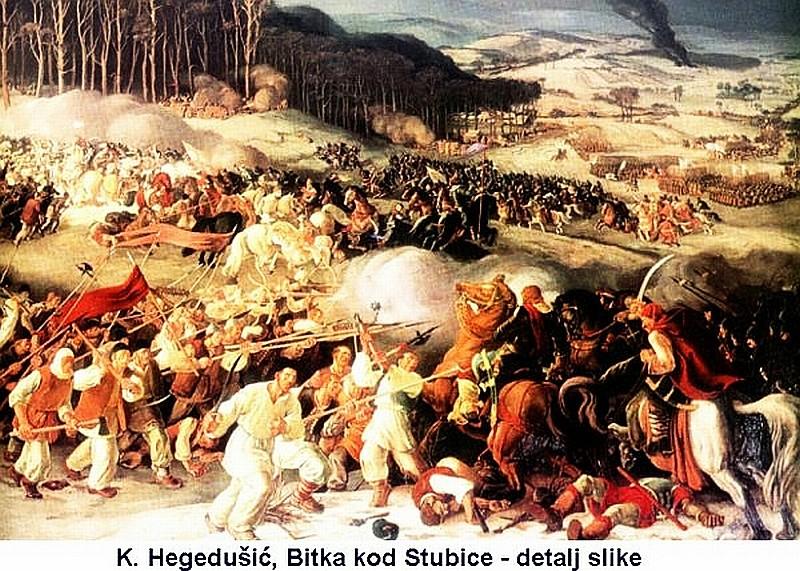 Matija Gubec Bitka kod Stubice