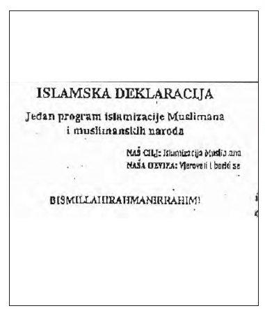 Islamska deklracija