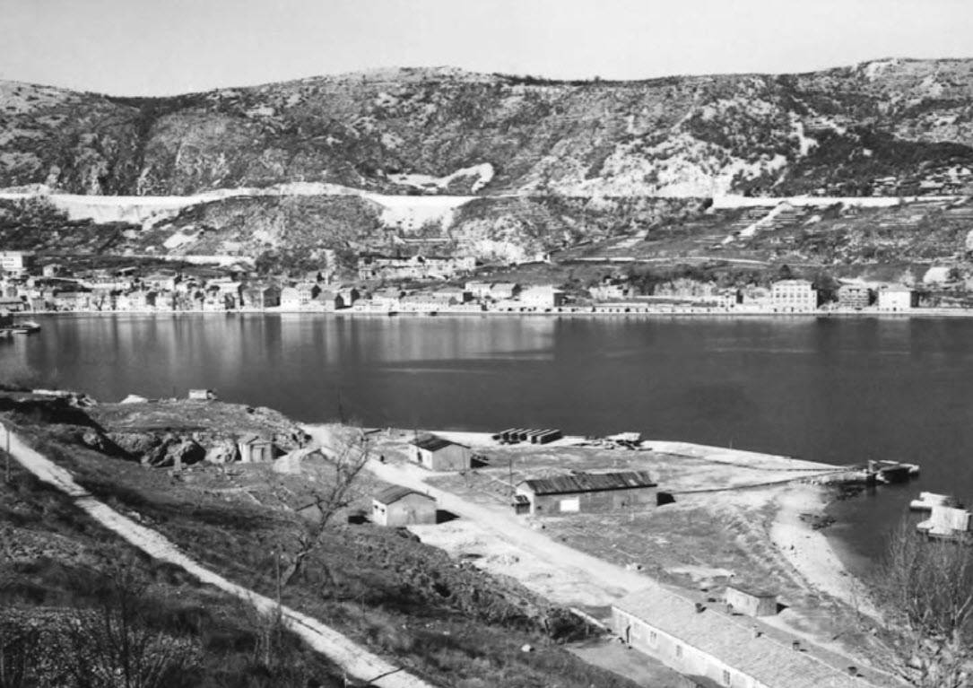 Bakarski zaljev sa ostatcima logora 1941 43jpg