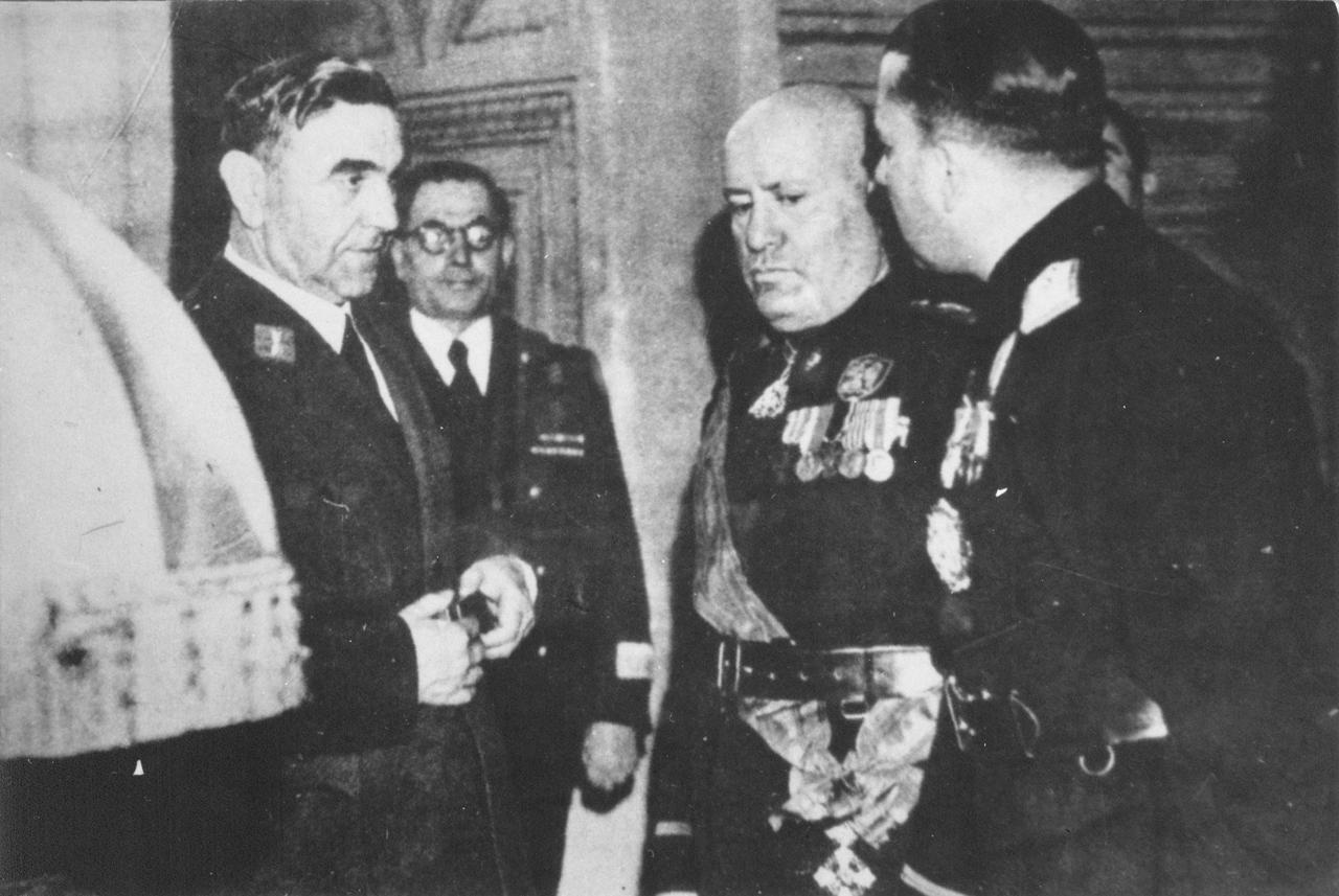 Pavelic Mussolini