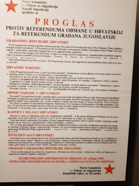 SK proglas protiv referenduma