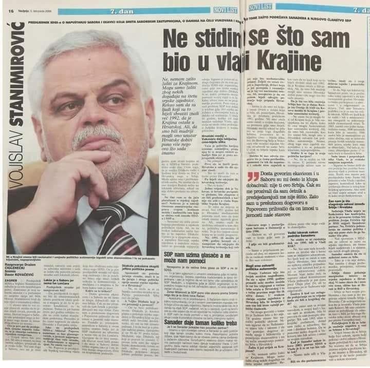 Stanimirovic je izbjegao optužnicu