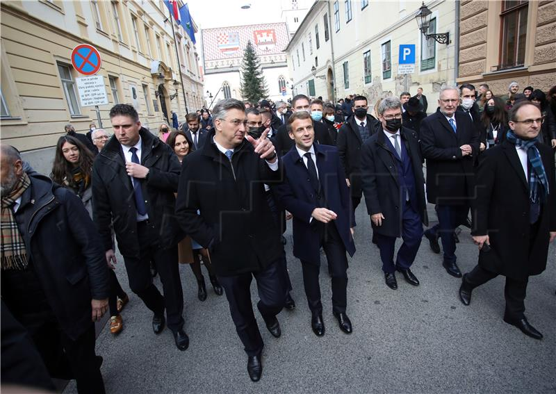 Plenkovic Macron