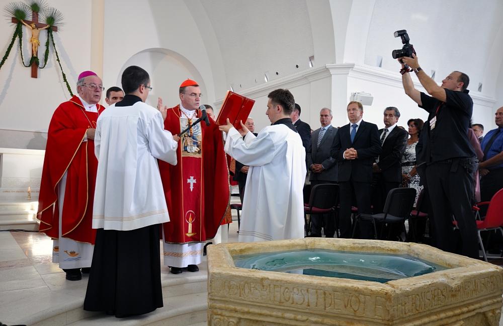 Krstionica - Crkva hrvatskih mučenika