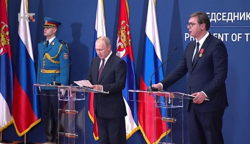 Putin u Srbiji 1