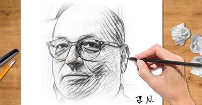 Javor Noval karikatura