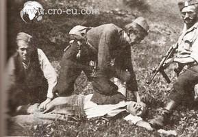 Cetnici kolju nepoznatu zrtvu