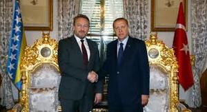 Izetbegovic Erdogan