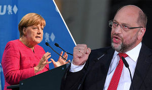 Merkel Shulz
