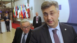 Plenkovic Juncker