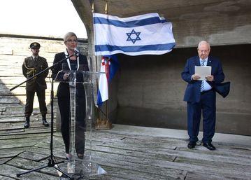 Kolinda Grabar Kitarović i izraelski predsjednik