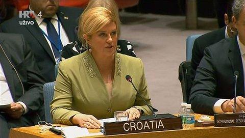 Kolinda Grabar Kitarovic VS UN